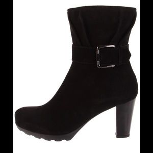 La canadienne Marlene suede ankle boots 8